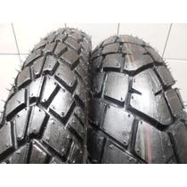 Pneu Pirelli O Par Diant/tras 90 90 21+140 80 18 Tornado/xre