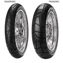 Pneu Dianteiro Pirelli 90/90 - 21 54v Tl Scorpion Trail