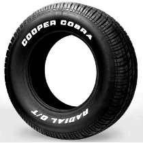 Pneu Cooper Cobra 215/70r14 Letras Brancas Maverick/opala(k)