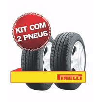 Kit Pneu Pirelli 185/65r14 P400 85t 2 Unidades - Sh Pneus