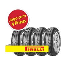 Kit 4 Pneu Aro Pirelli 185/70r14 Cinturato P1 88h