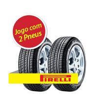 Kit Pneu Aro 15 Pirelli 195/65r15 P7 91v 2 Unidades
