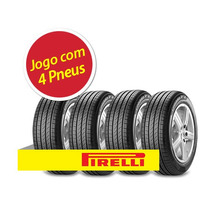 Kit Pneu Aro 15 Pirelli 195/55r15 Cinturato P7 85h 4 Unidade