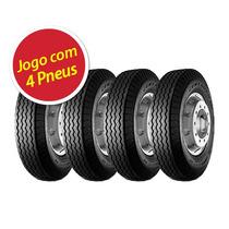 Kit 4 Pneu Aro 16 Pirelli 7.00x16 10l Ct52 Centauro Liso
