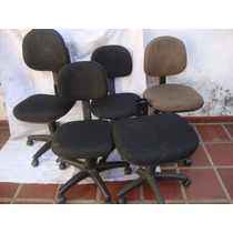 Cadeiras Giratórias 4 Unid.1 Acento