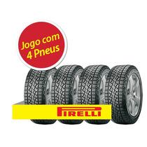 Kit 4 Pneu Aro 16 Pirelli Lt245/70r16 Scorpion Atr 113t