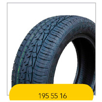 Pneu 195/55 R16 Tyre Cerato Tiida Logan Air Cross Remold