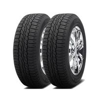 Jogo 2 Pneus Bridgestone Dueler H/t 687 225/65r17 101h