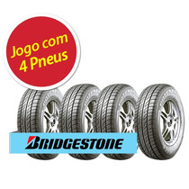 Kit 4 Pneu Aro 14 Bridgestone 185/65r14 Potenza Re740 86t