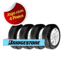 Kit 4 Pneu Aro 14 Bridgestone 185/65r14 Seiberling 500 86s