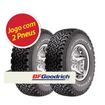 Kit 2 Pneu Aro 18 Bfgoodrich 275/65r18 All Terrain 123/120r