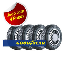 Kit 4 Pneu Aro 13 Goodyear 165/70r13 Kelly Metric Xtra 79t