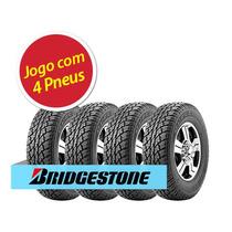 Kit Pneu Bridgestone 205/70r15 Dueler A/t 693 96t 4 Unidades