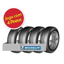 Kit Pneu Aro 14 Michelin 185/60r14 Energy Xm2 82h 4 Unidades
