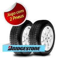 Kit 2 Pneu Aro 14 Bridgestone 185/65r14 Seiberling 500 86s