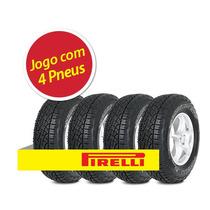 Kit 4 Pneu Pirelli 235/75r15 Scorpion Atr Letra Branca 108t