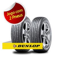 Kit Pneu Aro 15 Dunlop 195/60r15 Sport Lm704 88v 2 Unidades