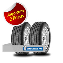 Kit 2 Pneu Aro 16 Michelin 235/60r16 Latitude Tour Hp 100h