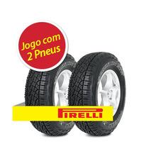 Kit 2 Pneu Pirelli 235/75r15 Scorpion Atr Letra Branca 108t