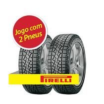 Kit 2 Pneu Aro 16 Pirelli Lt245/70r16 Scorpion Atr 113t