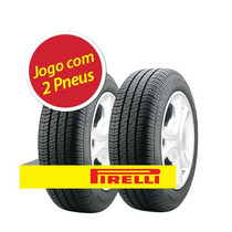 Kit Pneu Aro 14 Pirelli 195/70r14 P400 90t 2 Unidades