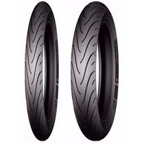 Par Pneu Crypton 60/100-17 + 80/90-17 Michelin Frete Grátis