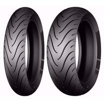 Par Pneu Dianteiro + Traseiro Yamaha Xj-6 Michelin Pilot St