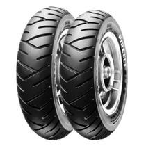 Par Pneus 100/90-10 + 90/90-10 Pirelli P/ Nova Burgman 125 I