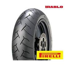 Pneu Pirelli Diablo 180 55 17 Novo Hornet Xj6 Srad Suzuki R6