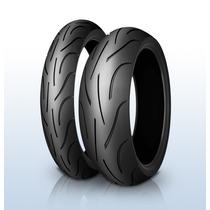 Par Pneu Michelin Power 2ct 120+180 Hornet Cb1000r Xj6 Cbr