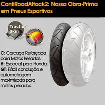Pneu Continental 120-70-17 (58 W) Tl Contiroadattack 2 (d)