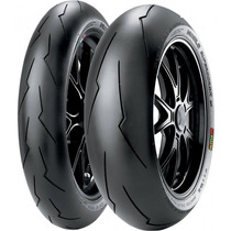 Jogo Pneu Moto120/70r17+180/55r17 Pirelli Diablo Super Corsa