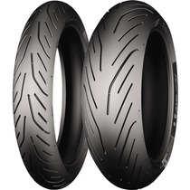 Pneu 190-55-17 E 120-70-17 Hornet Pilot Power 3 - Michelin