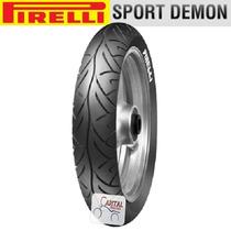 Pneu De Moto 110/70 17tl Pirelli Sport Demon - Dianteiro
