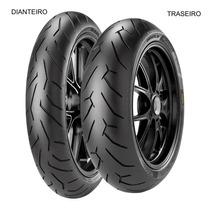 Pneu Dianteiro Pirelli 110/70 R 17 54h Tl Diablo Rosso Ii