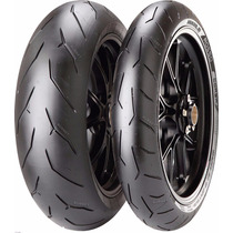 Par Pneus 180/60r17 + 120/70r17 Pirelli Diablo Rosso Corsa
