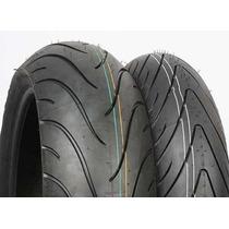 Par Pneu Michelin Road 2 120+180 Hornet Cbr 600 Cb1000r 1300