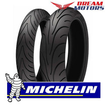Par Pneu Michelin Road 2 120+180 Ninja Zx6 650 Z 750 800 Zx7