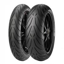 Par Pneus Pirelli Angel Gt 120/70-17 + 160/60-17