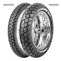 Pneu Traseiro Pirelli 110/80 - 18 58s Tt Scorpion Mt90 A/t