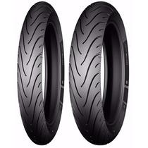 Par De Pneu 275-18 + 100/90-18 Michelin Pilot Street Titan