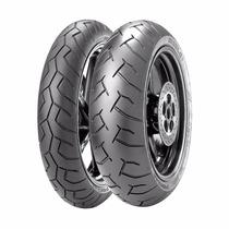 Jogo Pneu Moto 120/70/17 + 160/60/17 Pirelli Diablo