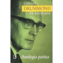 Livro Antologia Poética - Carlos Drummond De Andrade