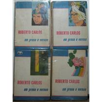 Livro Roberto Carlos Em Prosa E Versos Completa 4 Vols