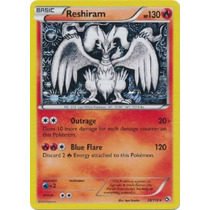 Reshiram Rare Holo - 28/113 - Legendary Treasures