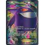 Carta Pokemon - Gengar Ex Full Art Xy Força Fantasma 114/119