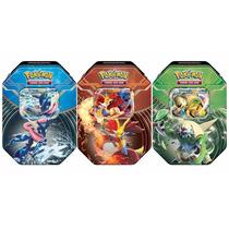 Kit Pokémon 3 Latas Kalos Power Xy 3