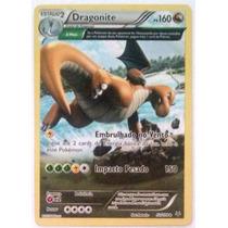 Carta Pokémon Dragonite Full Art Holo 52/108 - Português!