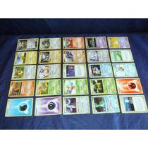 Cartas De 25 Cards Pokemon Variadas Com Holográficos Lote J