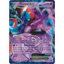 Carta Pokemon Deoxys Ex Plasma Freeze Em Inglês